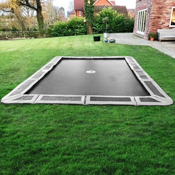 14ft x 10ft rectangular In-Ground Trampoline