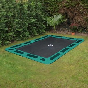 11ft x 8ft rectangular in ground trampoline