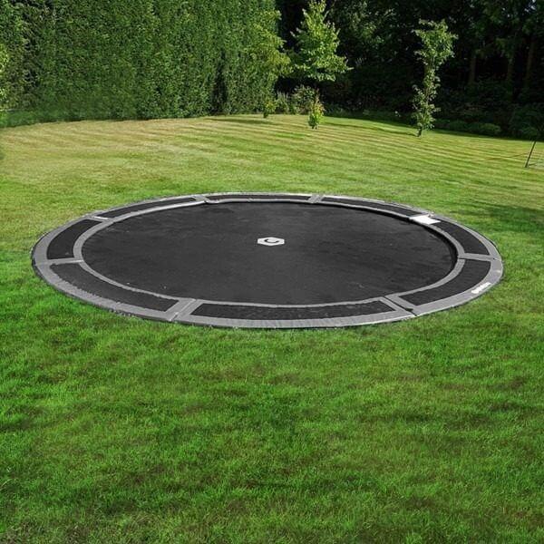 round 12ft ground trampoline